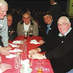 (Left to right): Jim 'Jippy' O'Hara, Dennis and Bob Winch, David Peacock, Alan French, Geoff Nunn | Geoff Webb