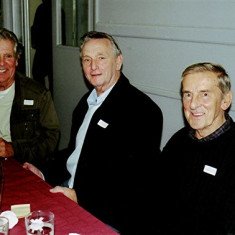 (Left to right): George Braddon, Pete Allen and John Groves | Geoff Webb