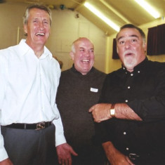 (Left to right): Jim Mimer, Walter Rough, Paul Wilson | Geoff Webb