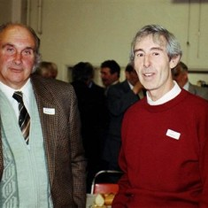 David Axtell (left) and Roy Woods | Geoff Webb