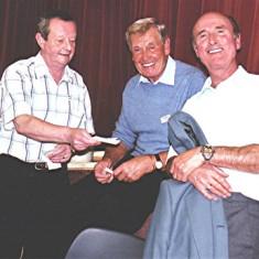 Graham Pryke (left), Peter 'Podger' Fox (centre) and Stephen Murphy | Geoff Webb