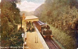 Bricket Wood railway station c1912