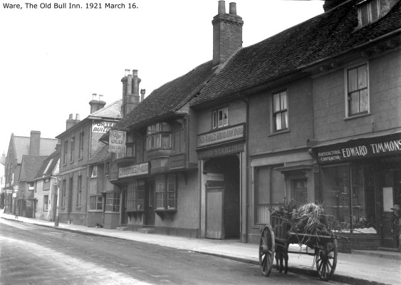 The Old Bull's Head in 1921 | Hals