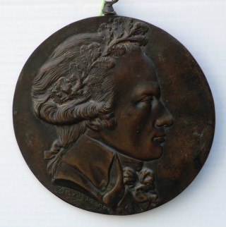 Medallion of Robespierre recovered from the battlefield | Terry Askew