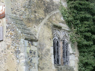 The Tower, showing where the chancel and nave were once attached. | Terry Askew