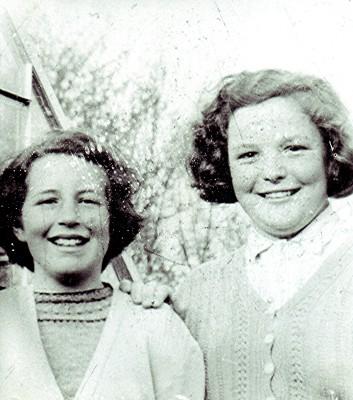 Fay Campbell & Doris Elsden   Geoff Webb