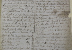 The Weather Diary of Sir John Wittewronge, September 1686