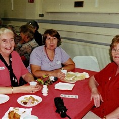 (Left to right): Lynn Carter, Rosemary Gregory, Margaret Brown. | Geoff Webb
