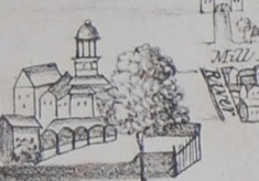 Maps and plans of Hitchin Priory