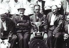 Chequers P.H. Darts Team, 1950