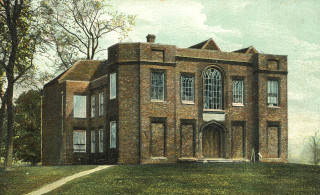 Cheshunt Great House on a postcard c1910 | Hertfordshire archives & Local Studies
