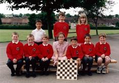 Junior School Chess Team