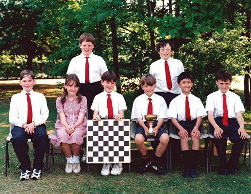 Junior School Chess Team | Geoff Webb