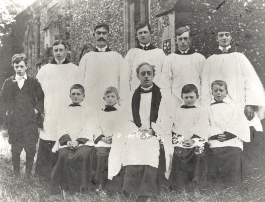 Sandon Choir, 1917 | Hertfordshire Archives & Local Studies