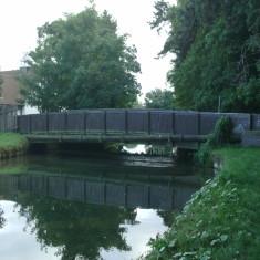 Church Lane Wormley, looking downstream | Nicholas Blatchley