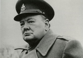 Winston Churchill, c1945 | (Churchill Archives Centre, Cambridge)