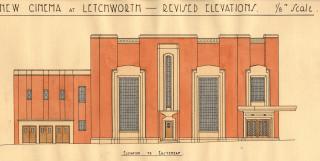 Original plans for the cinema