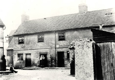 Slum housing in Hertford, 1850s to 1930s