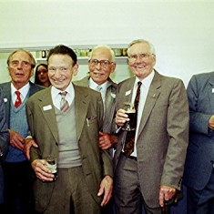 Left to right: George Henry, Alan Clark, 'Maz' Gurney, John Marshall, Ralph Reading and Dennis Holt | Geoff Webb