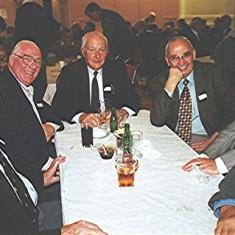 Left to right: Frank 'Pum' Smith, Alan 'Pip' French, Norman Shepherd, Jim Smith, John Tingey and Alan Clark | Geoff Webb
