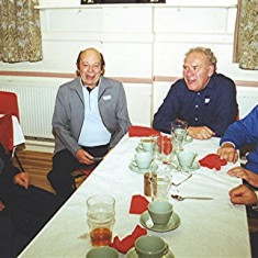 Left to right: Ivor Webb, Keith Bissell, Vic and Ray Clarke. | Geoff Webb