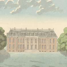Cole Green Park, c. 1800   Hertfordshire Archives and Local Studies, Ref: Oldfield, Vol 3