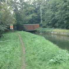 College Rd, Cheshunt, looking upstream | Nicholas Blatchley