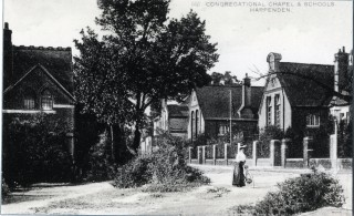 Congregational Chapel and Schools, Harpenden, c1905 | Herts Archives & Local Studies