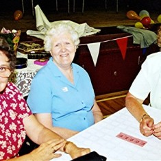 Left to right: Rene Saunders, Freda Coote, Beryl Fox | Geoff Webb