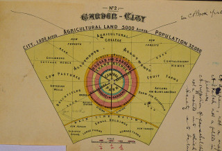 Howard manuscript: the garden city | Hertfordshire Archives and Local Studies