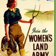 Recruitment Poster for the Women's Land Army | www.homesweethomefront.co.uk