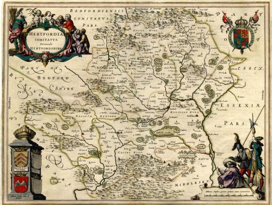 Hertfordshire map | HALS