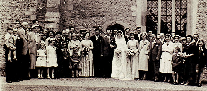 The marriage of Brian Cowland to Lily Orchard   Geoff Webb