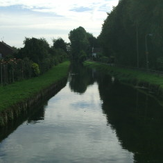 Looking downstream from Cozens Lane West | Nicholas Blatchley