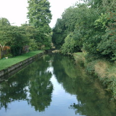 Looking upstream from Cozens Lane West | Nicholas Blatchley