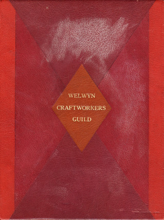 Cover of the Welwyn Craftworkers Guild Book | HALS