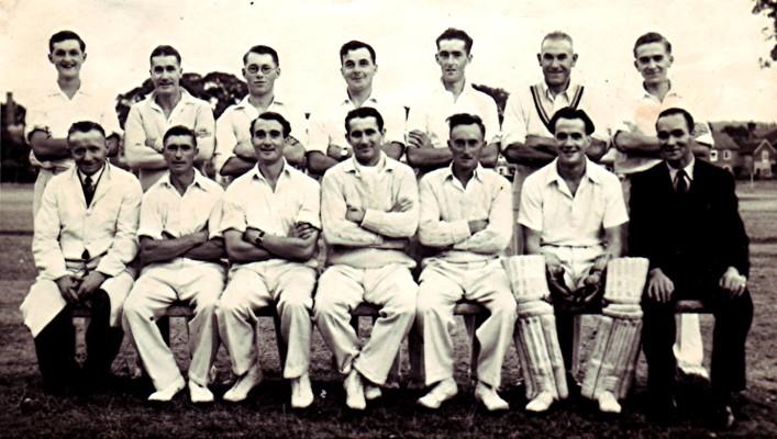 Cricket Club Team | Geoff Webb