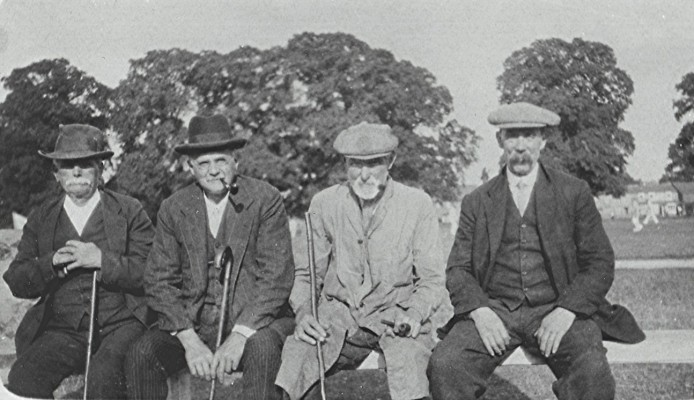 George 'Dubby' Axtell, Gregory 'Grig' Webb, 'Cuckoo' Skillman and Jack Sears | Geoff Webb