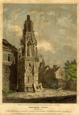 Eleanor Cross, 1806 | S Sparrow, from a drawing by William Alexander