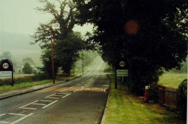 Cuffley Hill, between Goffs Oak and Cuffley. 2000 | Iain Bickerton