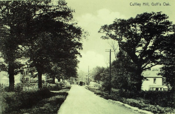 Cuffley Hill. The date is unknown. | Iain Bickerton