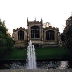 Fountain at Play   Open Door