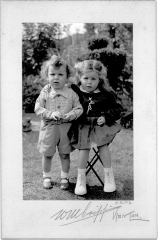 My Nan Andrea and her brother Henry.