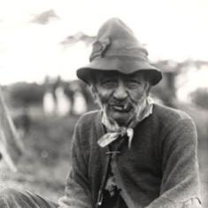 Chopper Smith, a gypsy from Colney Heath Encampment. Early 20th century