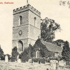 Parish Church of St Giles is the oldest building in Codicote. Dates from the 12th Century | Hertfordshire Archives and Local Studies