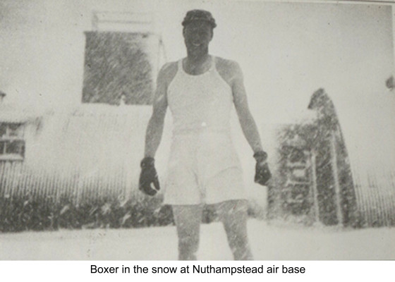 US Airman from Nuthampstead Air Base, WWII | Hertfordshire Archives & Local Studies [398th Bomb Group]