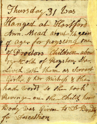 The Diary of John Carrington, 1800 | Hertfordshire archive and local studies