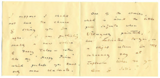 A letter from Oscar Wilde to Lady Desborough   Hertfordshire Archives and Local Studies