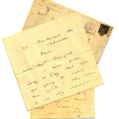 Oscar Wilde Letter [DE/X/789/C5] | Hertfordshire Archives and Local Studies