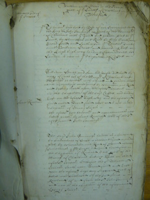 Survey of Waltham Cross   Herts Archives & Local Studies (DE/B1767/M1)